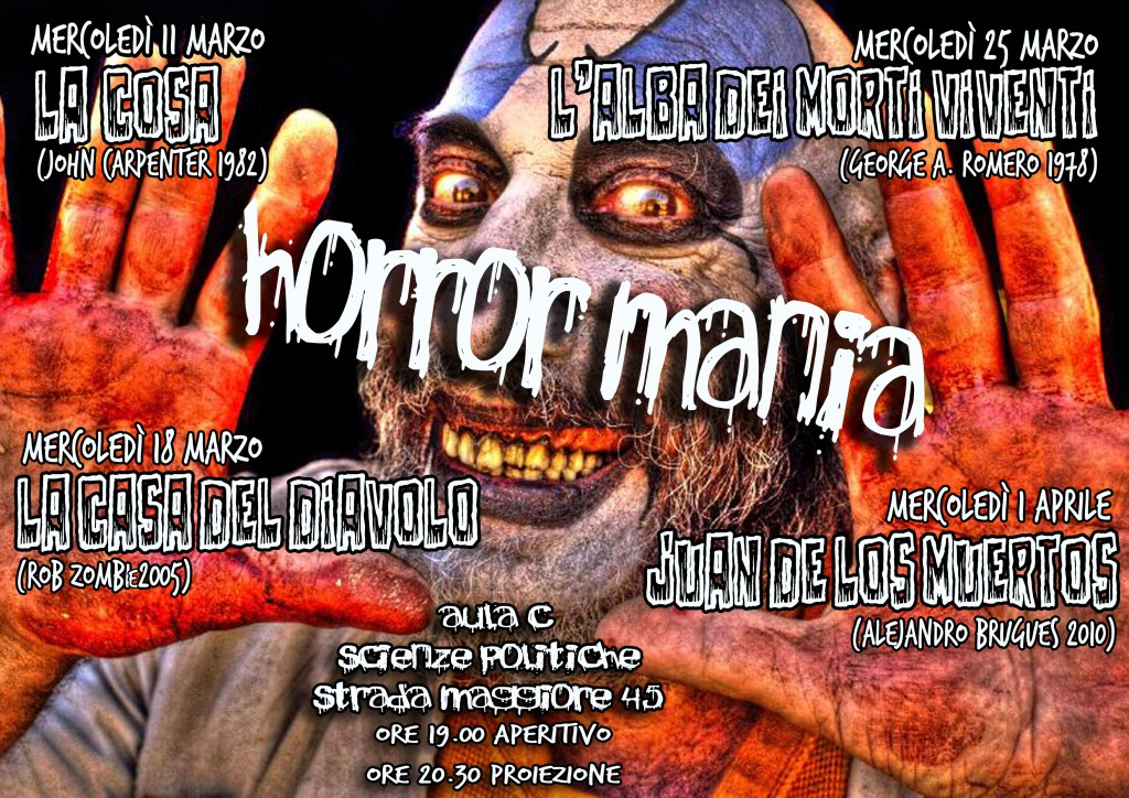 cineforum horror aula c